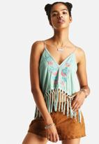 The Lot - Helena Boho Tassel Crop