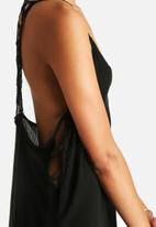 The Lot - Nevermore Cage Hi Lo Dress