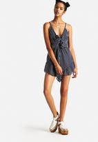 The Lot - In The Navy Jumpsuit