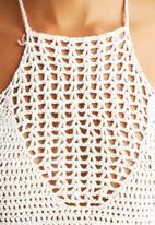 The Lot - Canyon Crochet Halter Crop
