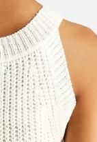 The Lot - Voice Over Knit Top