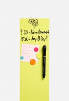 Three by Three - Colour Dot Magnets Brights