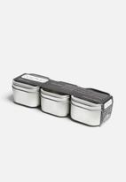 Three by Three - Hold Up Storage Tins