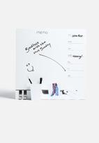 Three by Three - Channel Panel Dry Erase + Planners White