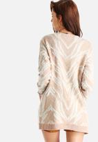 Vero Moda - New Zebra Long Cardigan