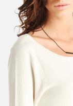 Vero Moda - Glory Eve 3/4 Zipper Knit