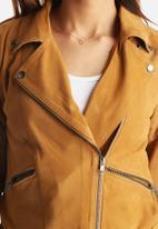 Y.A.S - Trish Suede Biker Jacket