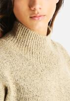 ONLY - Genevieve Highneck Knit