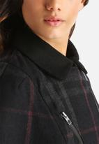 ONLY - Pinar Checked Wool Cape