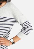 ONLY - Scarlett Stripe 3/4 Sweater