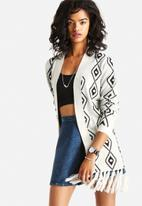 ONLY - Stina Open Fringe Cardigan
