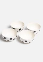 Urchin Art - Set of 4 Bowls