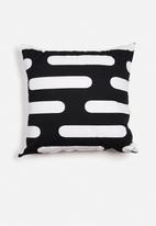Sixth Floor - Round lines printed cushion