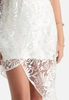 MINKPINK - For Love Or Lace Wrap Dress
