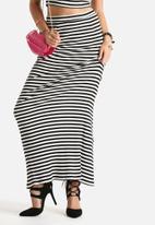 MINKPINK - Stripe Rib Tube Maxi Skirt