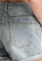 MINKPINK - Blue Dawn Denim Shorts