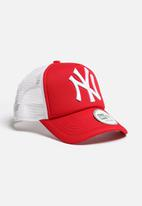 New Era - Trucker NY Yankees - red & white