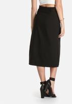 Lola May - Midi Skirt with Belt