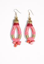 Pichulik - Coral Earings