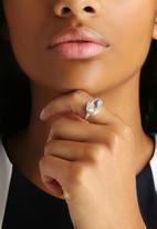 Black Betty - Tear Drop Stone Ring