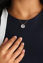 Black Betty - Sliding Open Tear Necklace