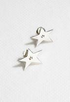 Kirsten Goss - Stellar Stud Earrings Silver