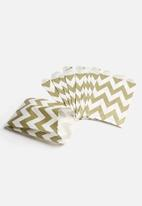 In Good Company - Gold Chevron Party Bags