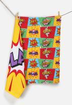 Kitchen Craft - Comic Tea Towel Set