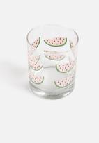 Sixth Floor - Set of 4 Watermelon Glasses
