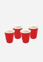 Big Mouth - Red Cup Shot Glass Set