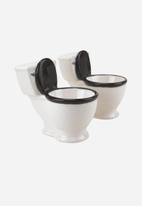 Big Mouth - Toilet Shot Glass Set