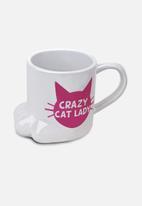 Big Mouth - Crazy Cat Mug