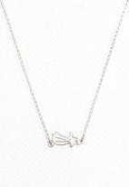 Kirsten Goss - Mini Charm Shooting Star Necklace