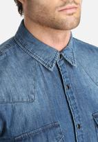 Only & Sons - Slim Denim Shirt