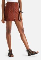 Y.A.S - Simma Suede Skirt