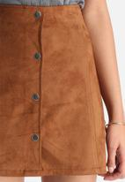 Vero Moda - Sunny Faux Suede Skirt