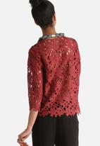 Vero Moda - We Love 3/4 Lace Top