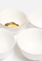 Urchin Art - Small Bowl Set of 4