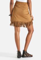 Vero Moda - Magic Faux Suede Skirt