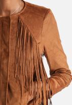 Vero Moda - Izzy Faux Suede Jacket