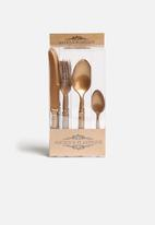 Nicolson Russell - Gold Antique Plastique Cutlery