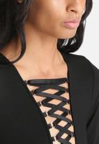 Bardot - Tie Front Bodysuit
