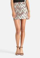 ONLY - Zigzag Skirt