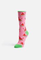 Socksmith - Juicy Watermelon