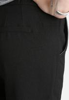 ONLY - Kazu Loose Pants with PU Trim