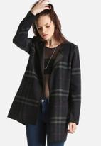 ONLY - Anni Checked Wool Coat