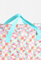 Heart and Home - Geometric Jumbo Shopper