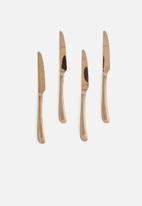 Nicolson Russell - Rose Gold Cutlery Set 16 Pc