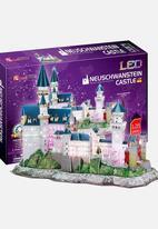 CubicFun - Neuschwanstein Castle 3D Puzzle with LED light