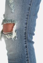 VILA - Crush Skinny Destroyed Jeans